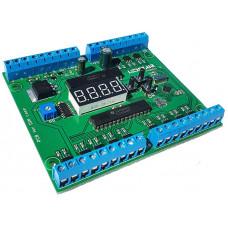 24 канальный лестничный контроллер с дисплеем + доработка прошивки